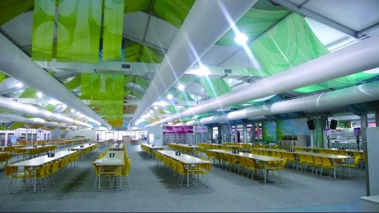 베이징 올림픽 Staff dinning-room